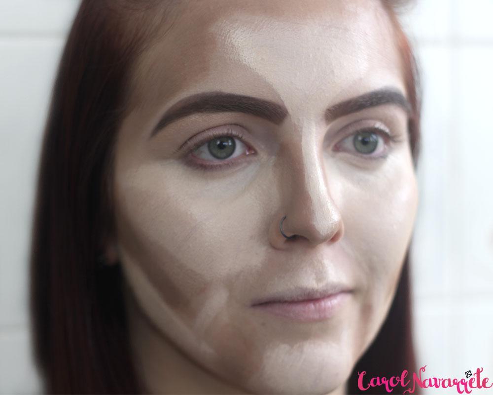 Como fazer contorno do rosto