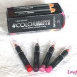 TESTEI! Lançamento EUDORA Batom Lápis Color Matte!
