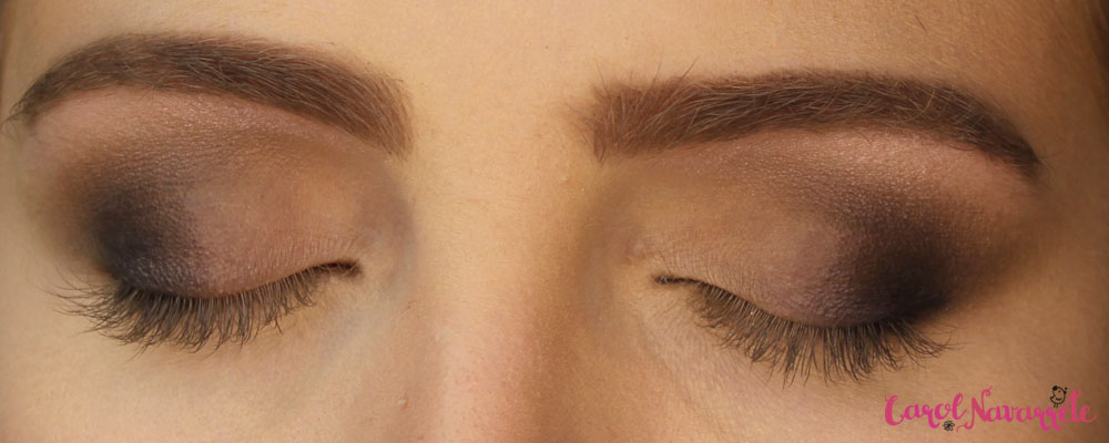 Maquiagem sem cílios postiços