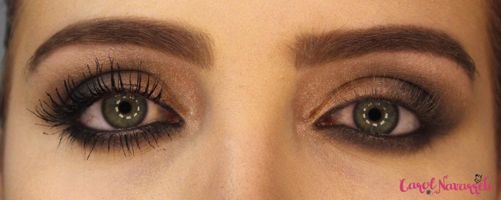 Como fazer uma maquiagem sem usar cílios postiços