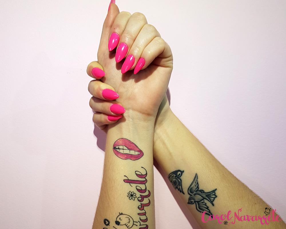 Unhas da semana-Inspiração Outubro Rosa