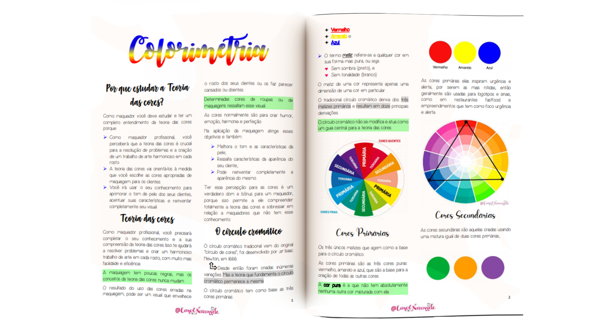 Teoria das cores - Colorimetria